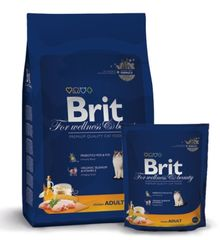 Brit Premium Cat Adult Csirkés 1,5 kg