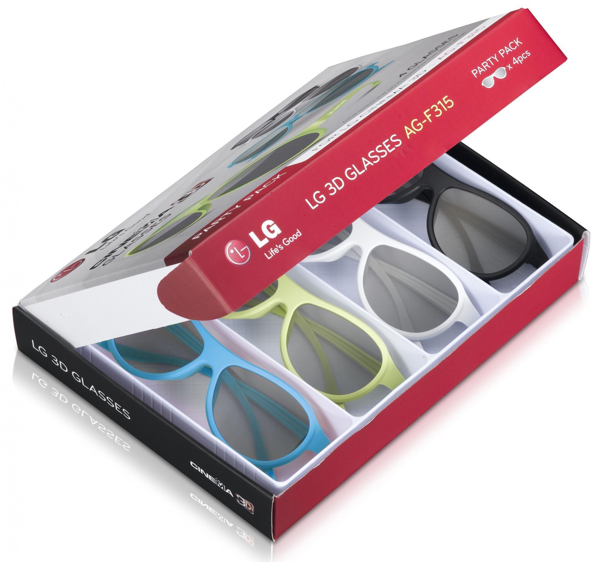 LG AG-F315 4 db 3D szemüveg