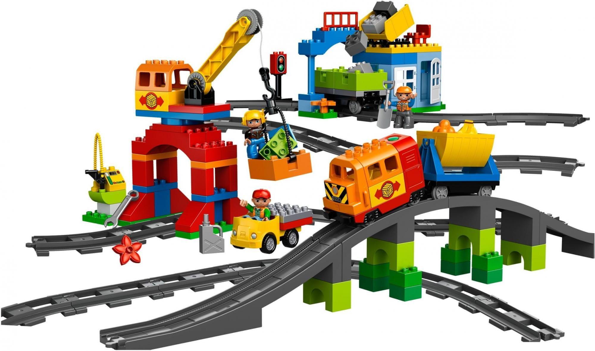 LEGO® DUPLO® 10508 Deluxe vasútkészlet