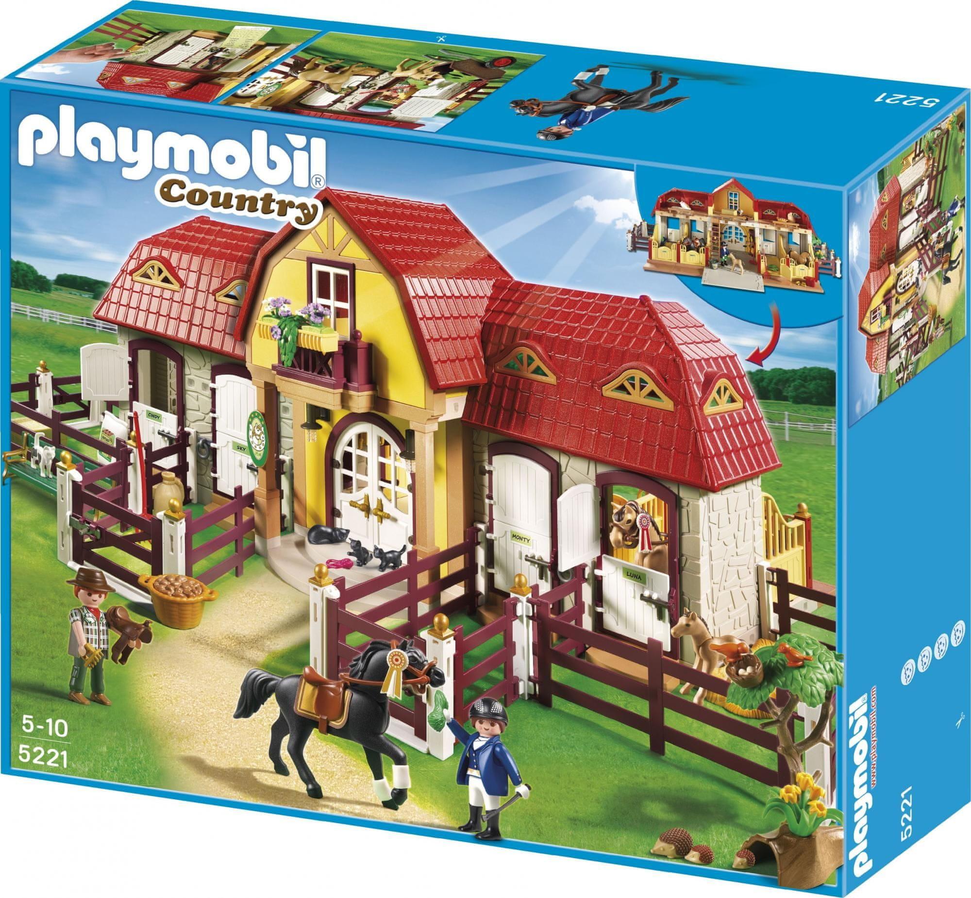 Playmobil 5221 Lovarda