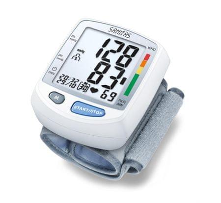 SANITAS SBM 09 Csuklós vérnyomásmérő - Paraméterek - MALL.HU