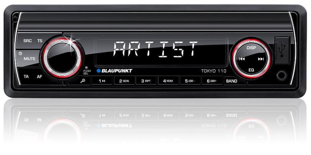 BLAUPUNKT Tokyo 110 Autórádió, USB/AUX csatlakozással