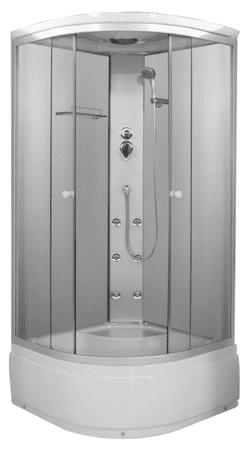 Sanotechnik PC55 Evita Komplett hidromasszázs zuhanykabin (6 ...