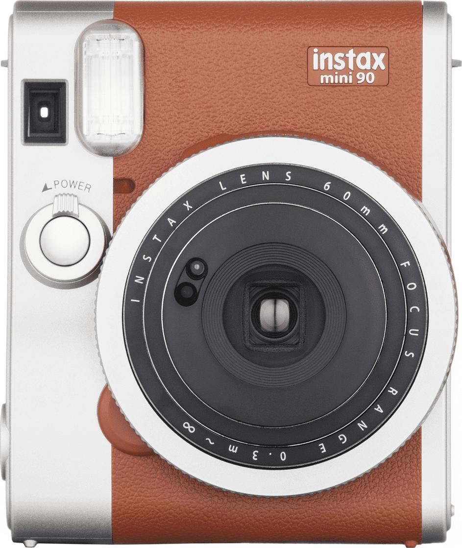 FujiFilm Instax mini 90 Neo Analóg Fényképezőgép, Barna