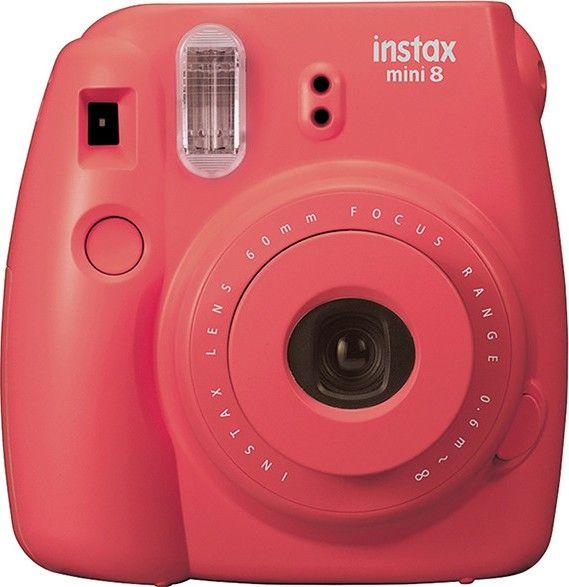 FujiFilm Instax Mini 8 Analóg fényképezőgép, Piros