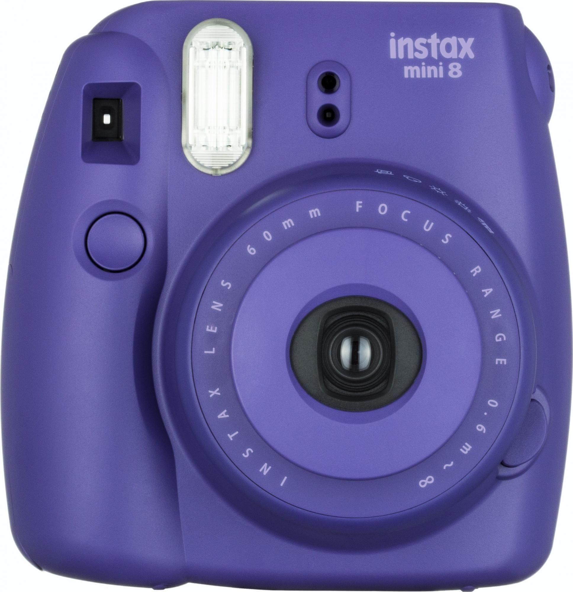FujiFilm Instax Mini 8 Analóg fényképezőgép, Málna