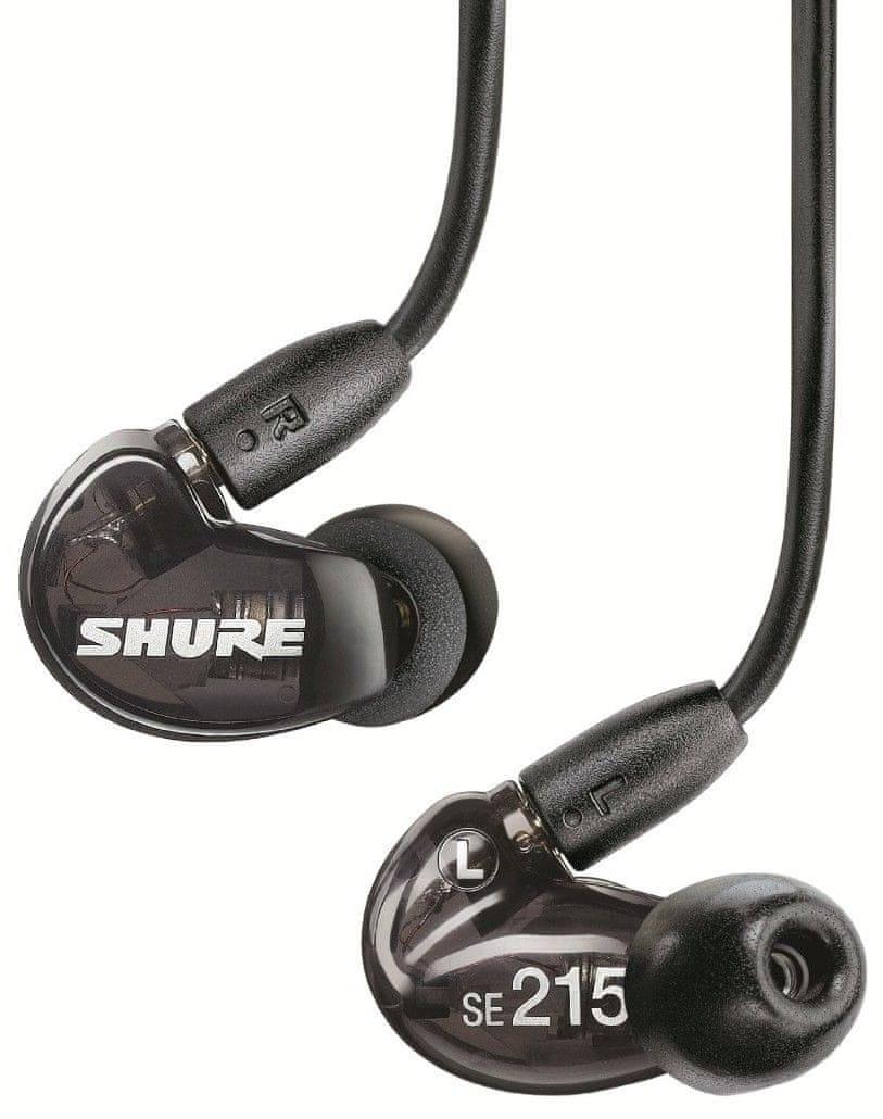 Shure SE215 Fülhallgató, Fekete