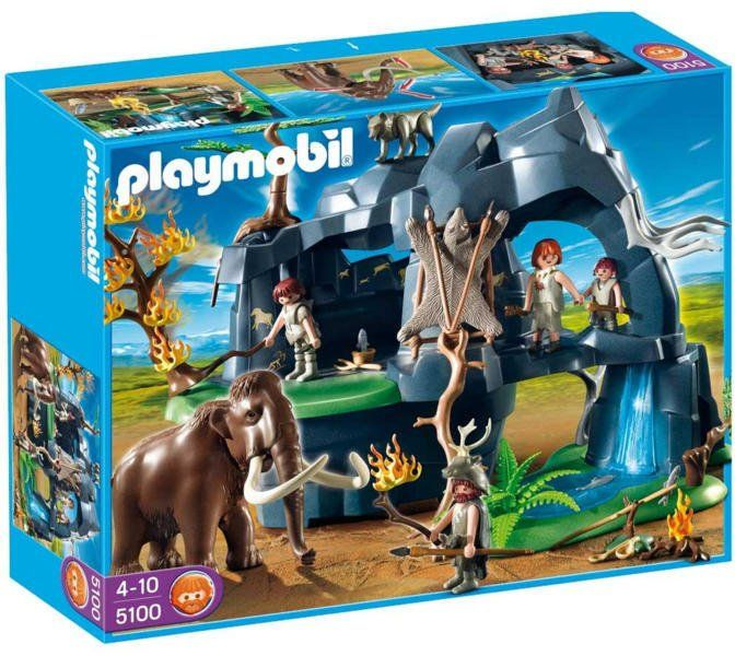 Playmobil 5100 Nagy kőkorszaki barlang mamuttal