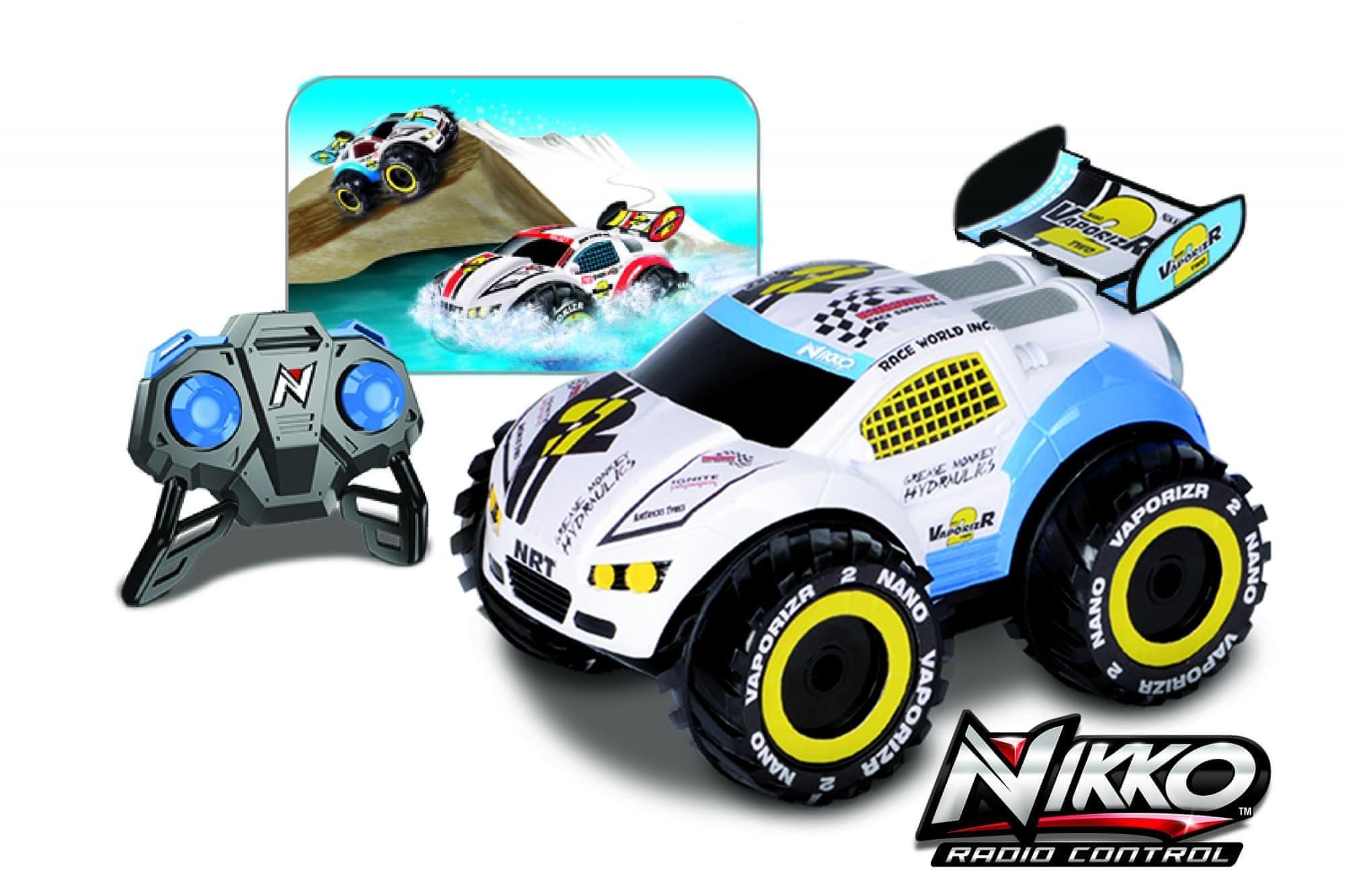 Nikko Nano Vaporizr 2 Távirányítós autó, Kék, 27 MHz