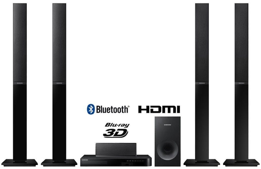 SAMSUNG HT-J4550 5.1-es Smart 3D Blu-ray Házimozi rendszer