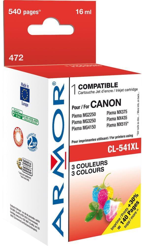 Armor (K20329) Canon CL541XL Tintapatron, Színes