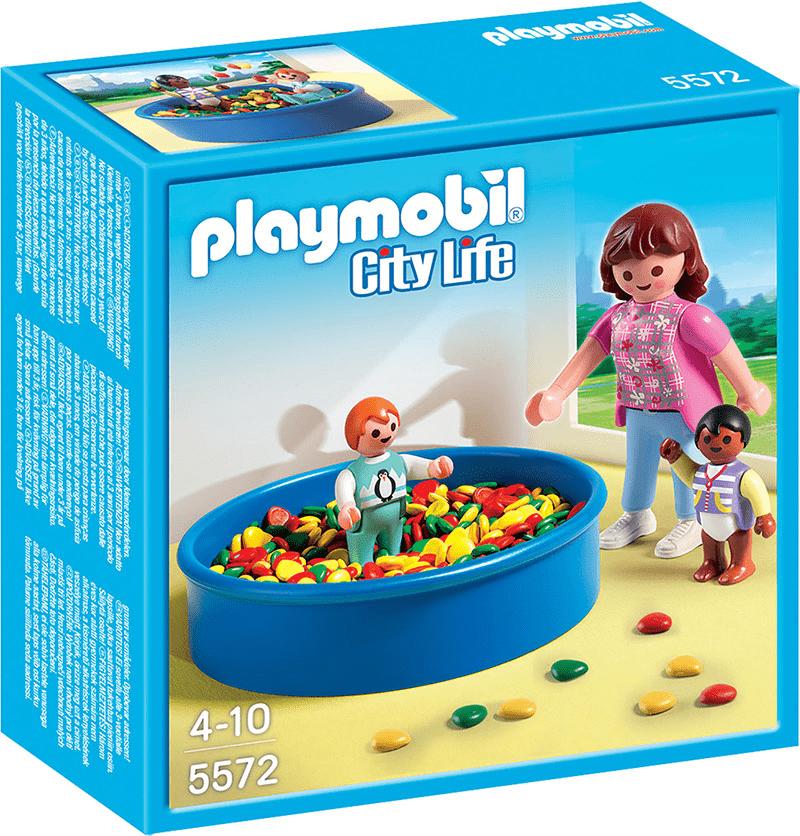 Playmobil 5572 Színgolyós medence