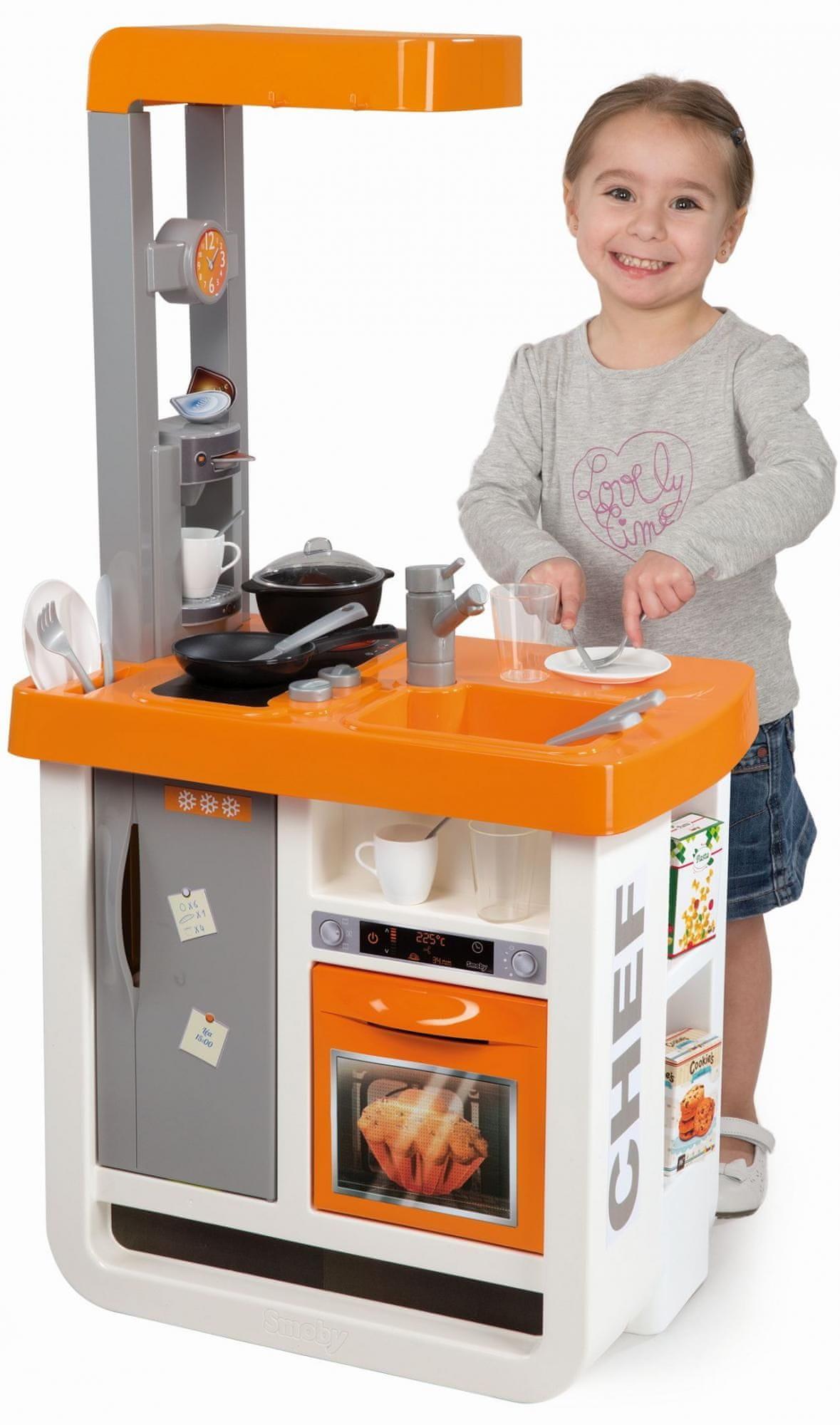 Smoby Bon Appetit Játékkonyha - Narancs