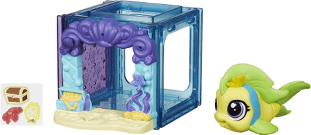 Littlest Pet Shop Mini Style Szett Flippa Splash figurával