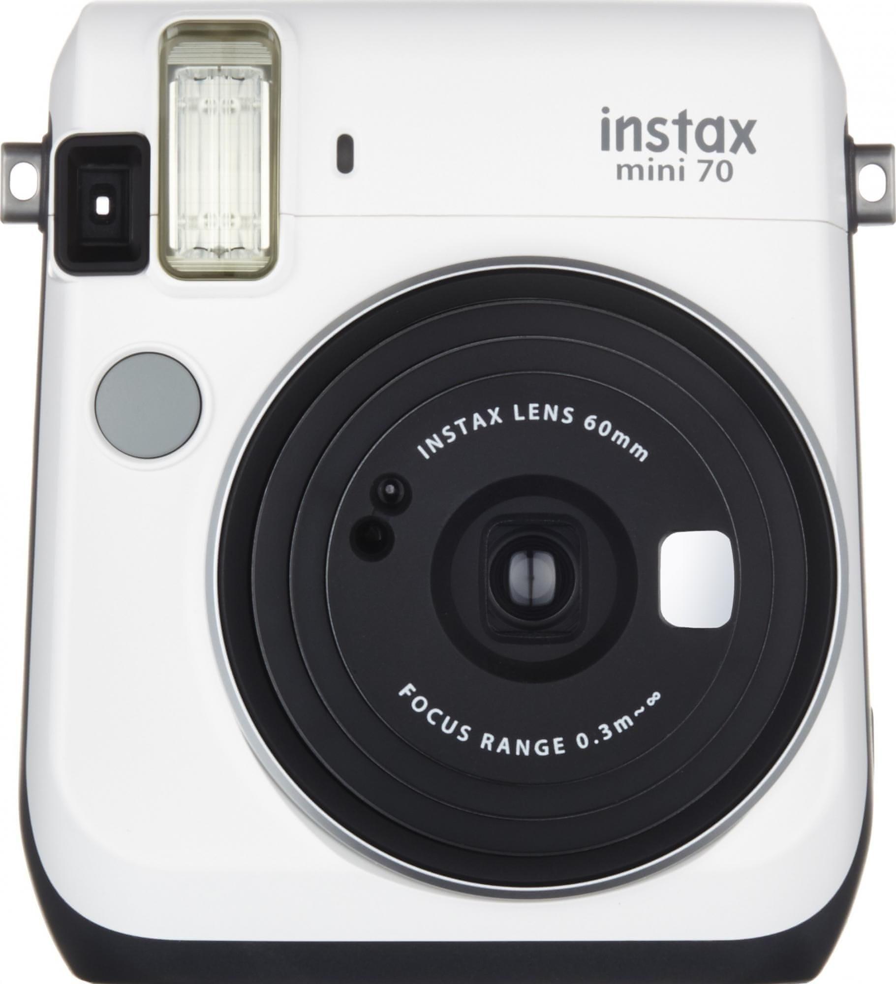 FujiFilm Instax Mini 70 Fényképezőgép, Fehér