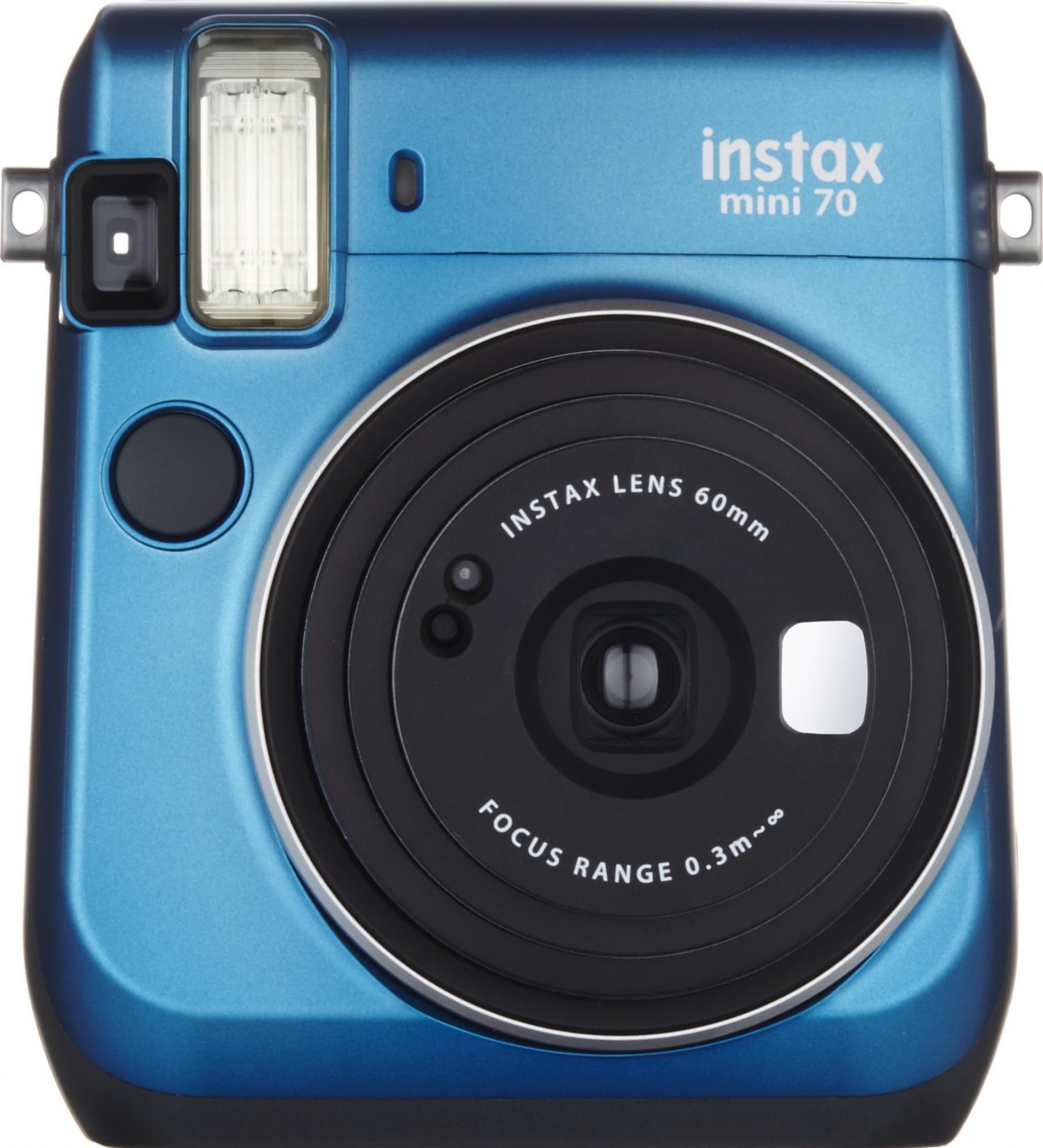 FujiFilm Instax Mini 70 Fényképezőgép, Kék