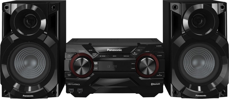 PANASONIC SC-AKX200E-K Mini Hifi (400 W RMS, 16 cm-es mélynyomó, D.Bass, Bluetooth)