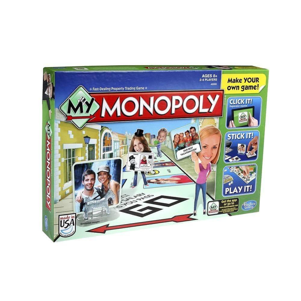 HASBRO My Monopoly - Az én Monopoly-m társasjáték - Magyar nyelvű