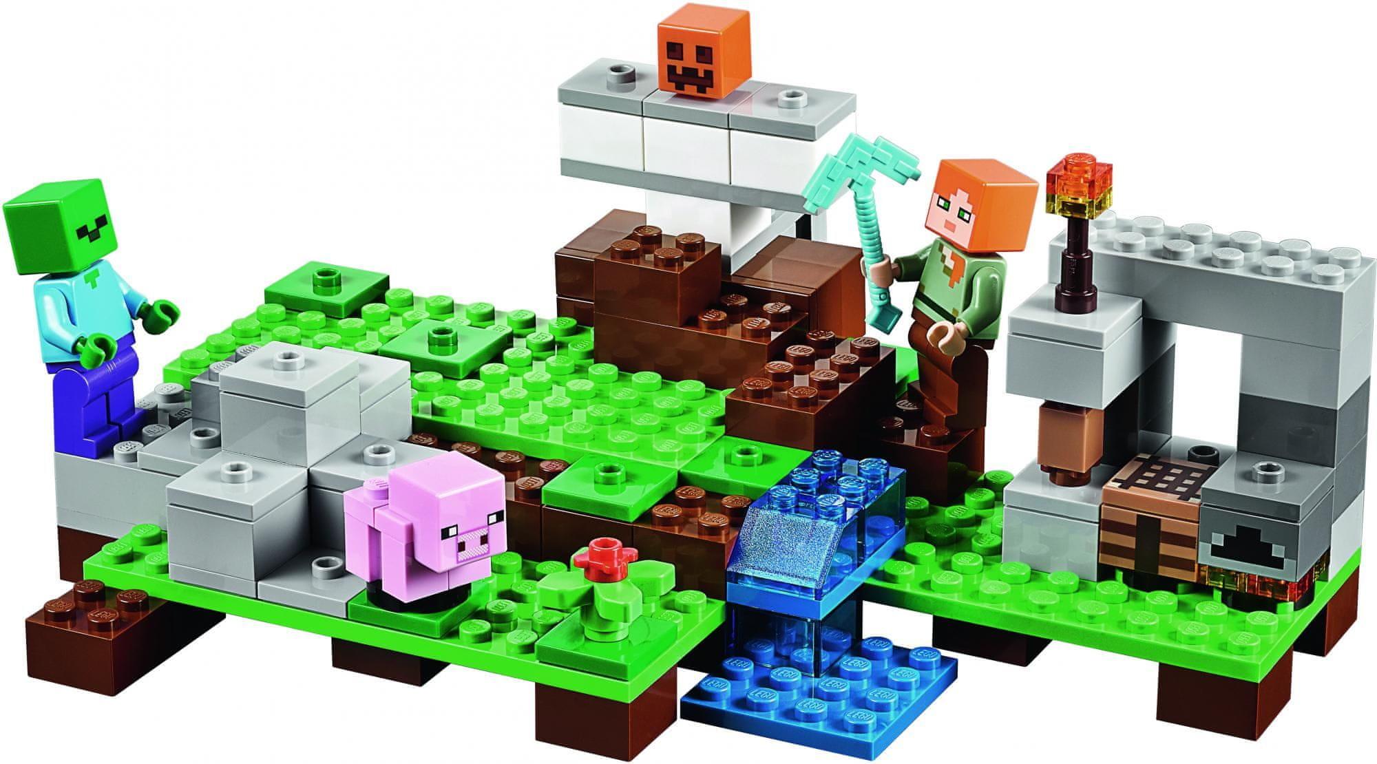 LEGO® Minecraft 21123 A vasgólem