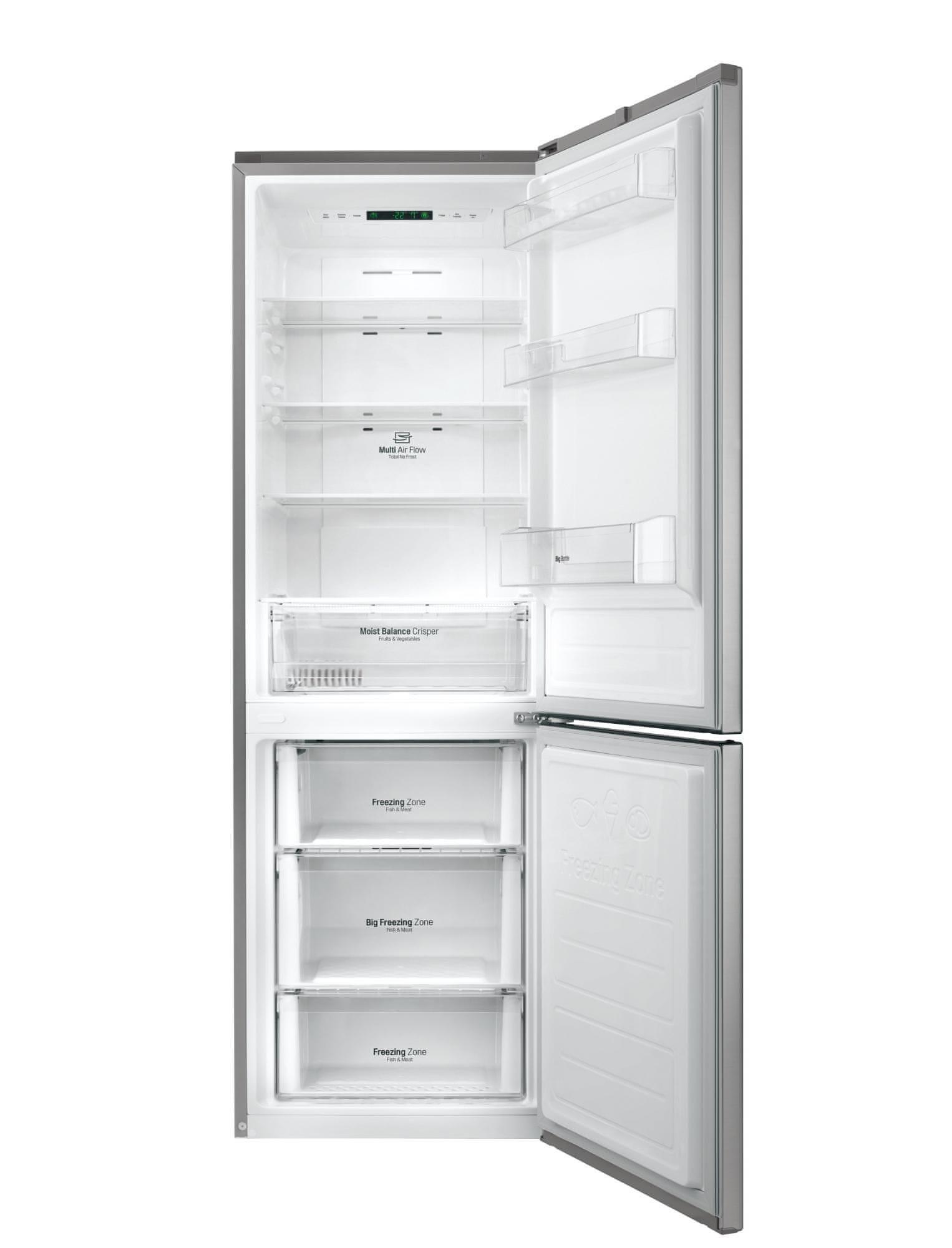 LG GBB59PZJZS Szabadonálló hűtőszekrény