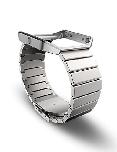 Fitbit Blaze rozsdamentes acél szíj
