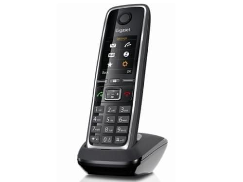 Gigaset ECO DECT Telefon C530, Fekete