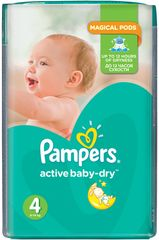 Pampers Active Baby 4 Maxi Pelenka (8-14 kg) - 174 db