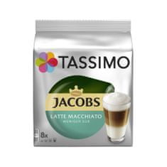 Jacobs T-Disc Latte Macchiato Less Sweet Kávékapszula, 2 x 8 db