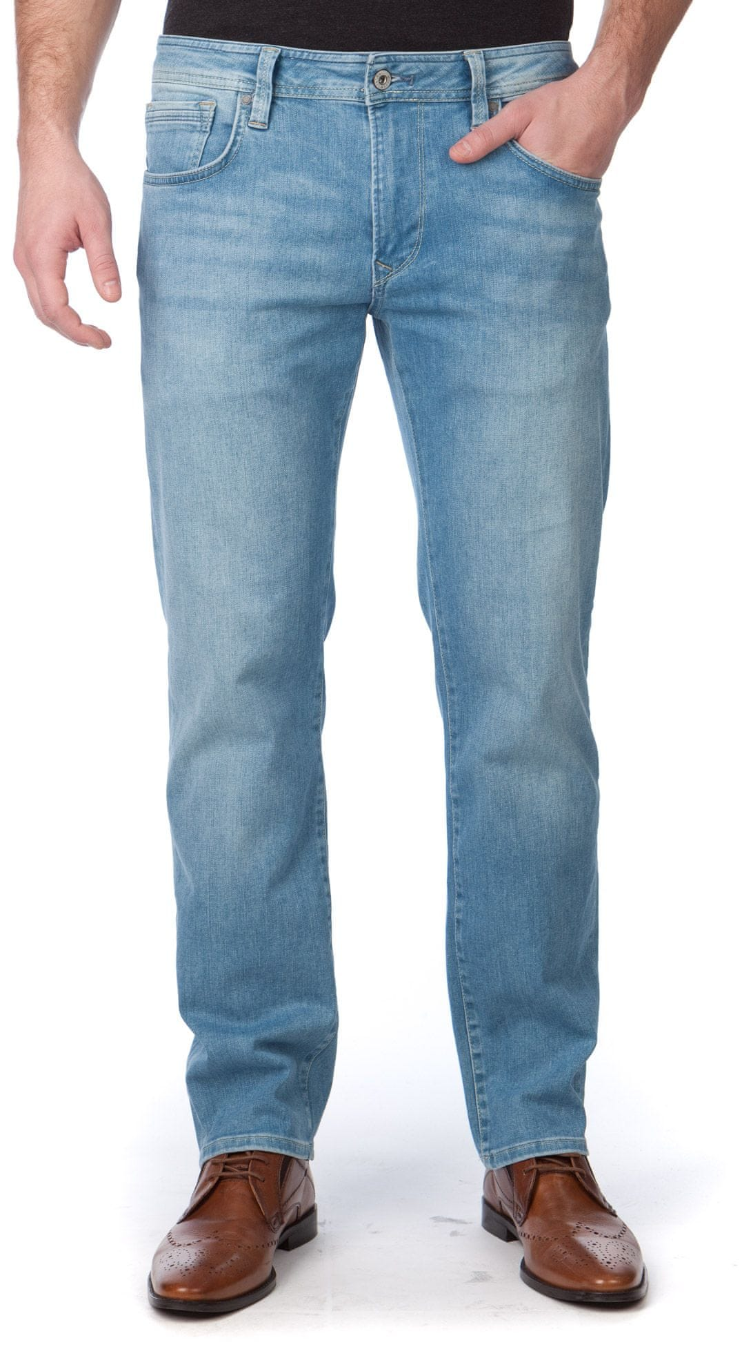 Pepe Jeans férfi farmer Bradley 31/32 kék