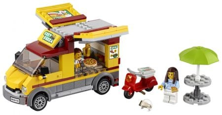 LEGO City 60150 Pizzás furgon