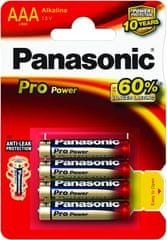 PANASONIC Pro Power Alkáli elem AAA, 4 db