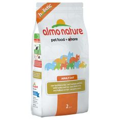 Almo Nature Holistic DRY CAT Adult - Pulyka rizzsel 2kg