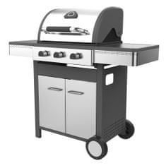 GrillMe Sydney 3 Delux SS Gázgrill