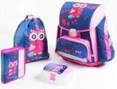 f60fc7013ba1 Karton P+P Premium Owl Iskolatáska szett