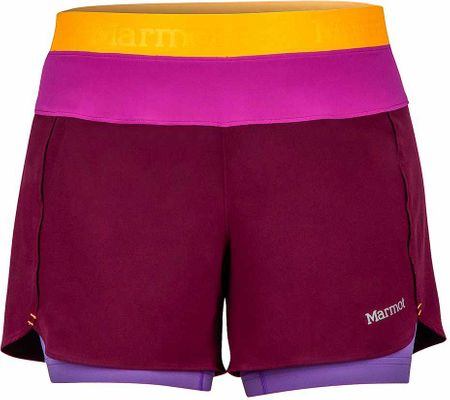 Marmot Wm's Pulse Short Deep Plum/Neon Berry S