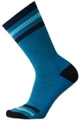 SMARTWOOL W Striped Hike Light Crew Blue