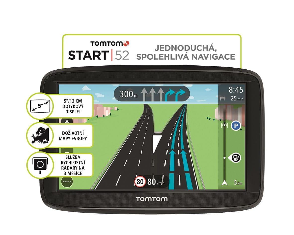 TomTom START 52 EU 45 Navigációs készülék
