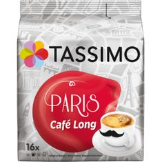 Jacobs TASSIMO PARIS CAFÉ LONG Kávékapszula, 2 x 16 db