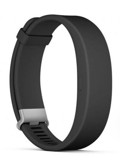 SONY SmartBand 2 Aktivitásmérő karkötő, Fekete