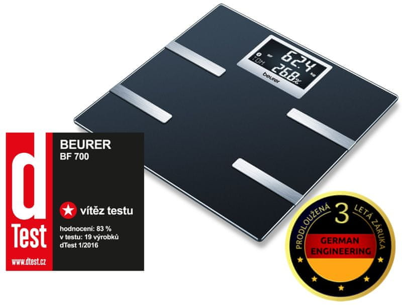 BEURER BF 700 Diagnosztikai mérleg