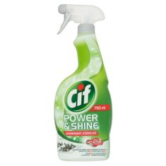 Cif Power & Shine Konyhai zsíroldó spray, 750ml