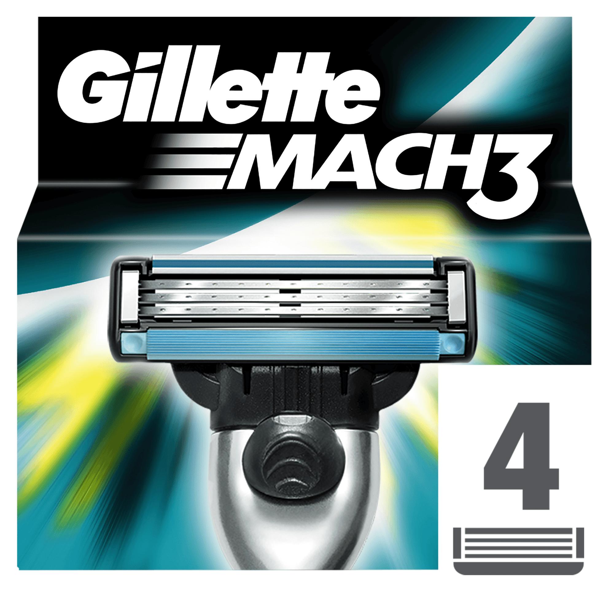 Gillette Mach3 Borotvabetét, 4 db