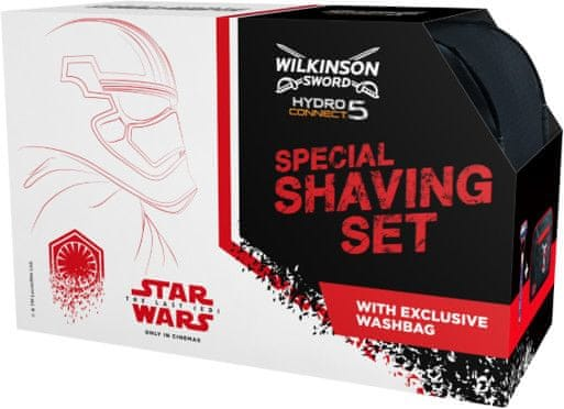Wilkinson Sword HYDRO Connect 5 borotva + neszesszer táska - STAR WARS