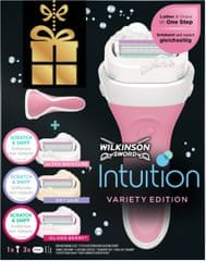 Wilkinson Sword Intuition borotva + 3 fej (mix)