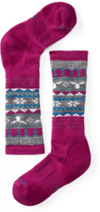 SMARTWOOL Girls Wintersport Fairisle Moose Térdzokni