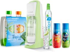 Sodastream JET Grass Green Tropical Edition Prales 2+2
