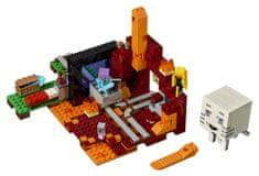 46edd18821 LEGO Minecraft 21143 Az Alvilág kapu