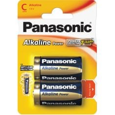 PANASONIC Alkaline Power C LR14 2BP