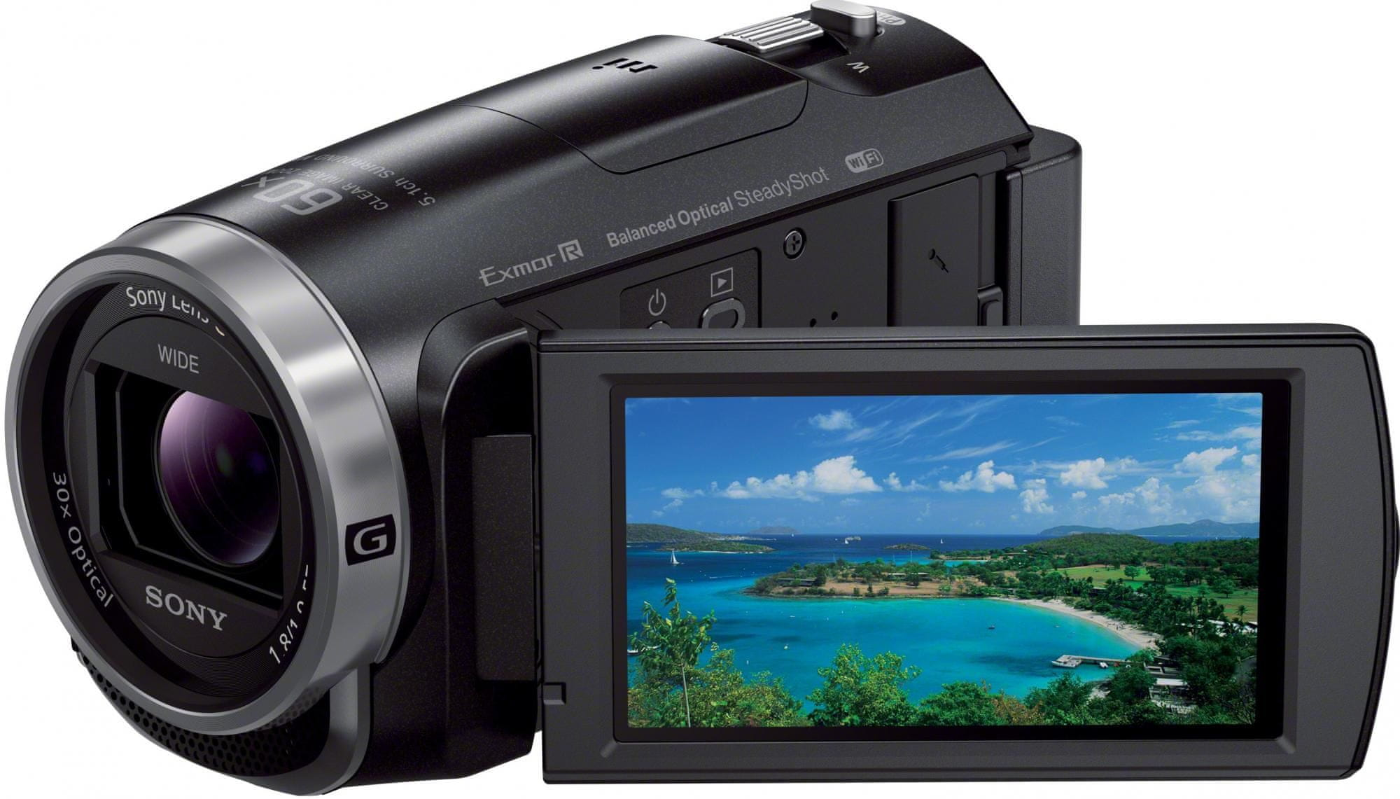 SONY HDR-CX625 Digitális videókamera