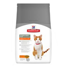 Hill's Feline Young Adult Sterilised Cat Macskaeledel, 3,5 kg
